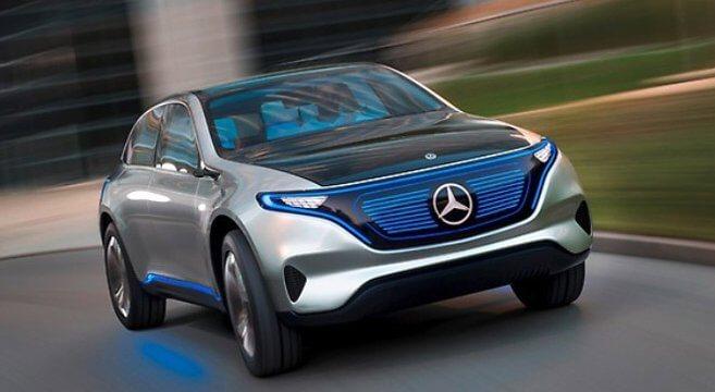 Daimler, Generation EQ, Elektroauto