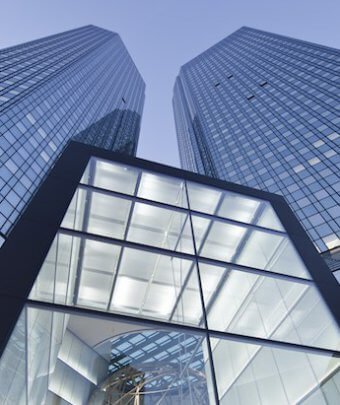 Deutsche Bank, Tower, Aktie, Börse, Soll und Haben