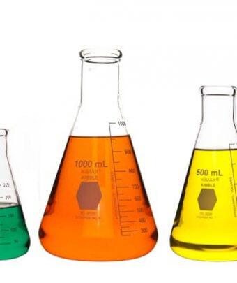 Geresheimer, Flasks, Glas, Aktie